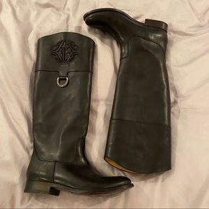 Black Frye Riding Boots. Only worn around house